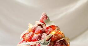 让人惊艳的草莓塔蛋糕!