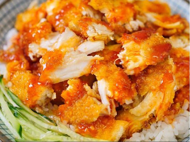 脆皮鸡米饭培训